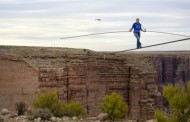 Discovery Captures Nik Wallenda's Historic Tightrope Crossing Over the Grand Canyon