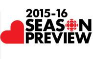CBC Announces 2015-2016 Schedule
