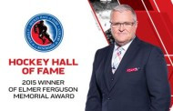 TSN and Bell Media Congratulate Bob McKenzie on Winning 2015 Hockey Hall of Fame NHL Media Award