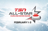 TSN ALL-STAR CURLING SKINS GAME to be Broadcast on ESPN3 in the United States, Feb. 1-3