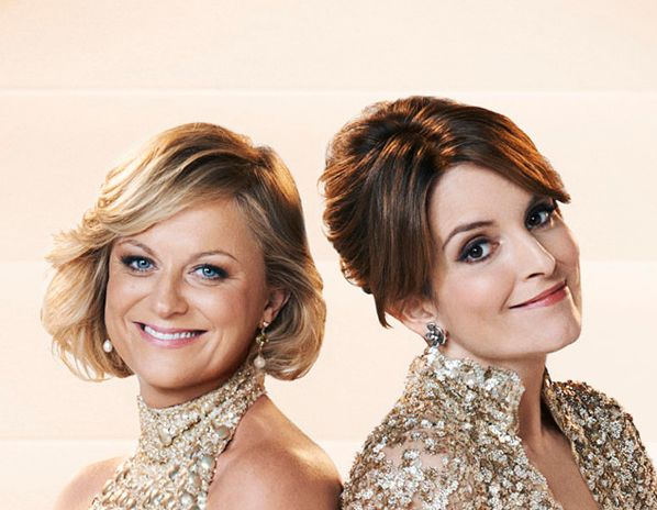 Amy Poehler and Tina Fey (Photo credit: copyright NBC/Gavin Bond)