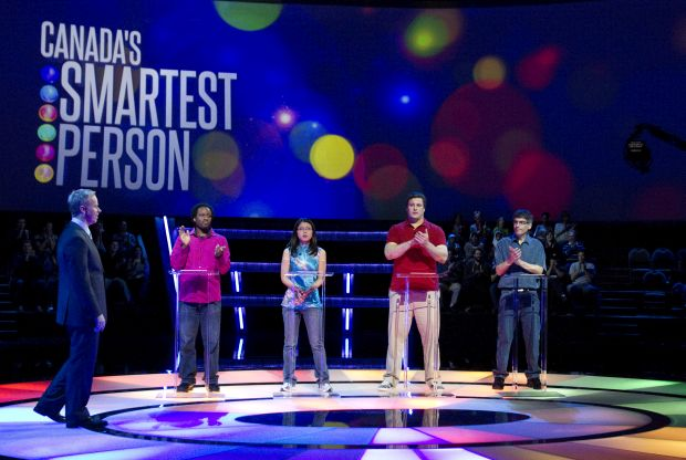 Hit CBC-TV show CANADA'S SMARTEST PERSON is back and looking for Canadians to put their smarts to the test
