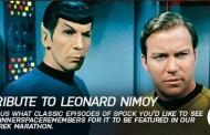 Space Celebrates Mr. Spock with A TRIBUTE TO LEONARD NIMOY: STAR TREK MARATHON, March 8