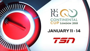 TSN's 2018 Season of Champions Curling Coverage Begins with the WORLD FINANCIAL GROUP CONTINENTAL CUP, Live from London, Ont., Jan. 11-14