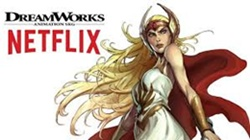 "DreamWorks Animation Television and Netflix Reveal Cast for All-New Original Series ""She-Ra and the Princesses of Power"""