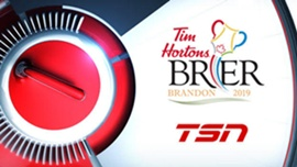 Canada's Best Men's Curlers Clash in TSN's Exclusive Live Coverage of the 2019 TIM HORTONS BRIER, Beginning March 1