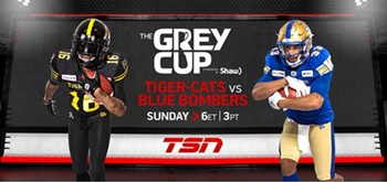 107th GREY CUP Presented by Shaw Audience Grows 19% to 3.9 Million Viewers on TSN and RDS