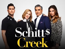 CBC Congratulates Schitt's Creek On Historic Nine Emmy® Awards Including The Most Wins In A Single Season For A Comedy and The First Canadian Win For Outstanding Comedy Series