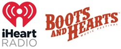 iHeartRadio Announced as Official Radio Partner of the Boots and Hearts Music Festival