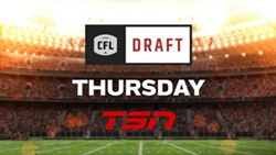 CFL ON TSN Delivers Exclusive Live At-Home Coverage of the 2020 CFL DRAFT, April 30