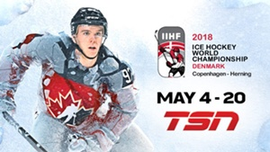 Connor McDavid Leads Team Canada at the 2018 IIHF WORLD CHAMPIONSHIP, With TSN Delivering Every Game Beginning May 4