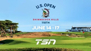 TSN Delivers Exclusive Live Coverage of Every Round of the PGA's 118th U.S. OPEN, Beginning Tomorrow