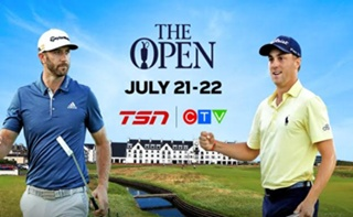 CTV and TSN Deliver Live Coverage of Final Rounds of Golf's 147th OPEN CHAMPIONSHIP, July 21-22