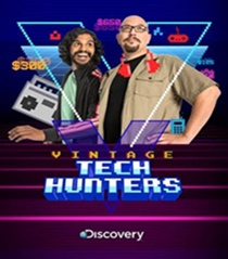 Discovery's Newest Original Canadian Series VINTAGE TECH HUNTERS Unearths Retro Technology and Rare Pop Culture Treasures, Premiering Nov. 5