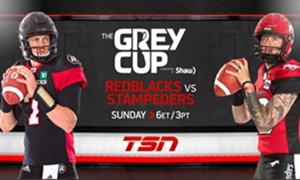 CFL ON TSN Proudly Presents a Packed Weekend of Exclusive Coverage of the 106th GREY CUP Presented by Shaw