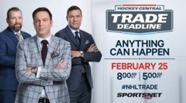 Sportsnet Takes Hockey Fans End-To-End with Hockey Central Trade Deadline, Feb. 25