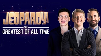 """The Three Highest Money Winners in """"Jeopardy!"""" History Are Coming to ABC in a Prime-Time Competition Hosted by Alex Trebek"""