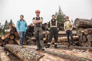 Corus Studios' Original Series BIG TIMBER Makes Its Debut October 8 on History