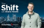 The Shift with Shane Hewitt Launches on Global News Radio Network Sunday, November 29
